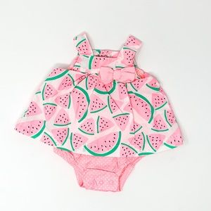 🍉Just One You | Baby Girl Watermelon Romper NB